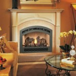 Picture of Fireplace Xtrodinair 564 High Ouput Ember Fyre Gas Fireplace