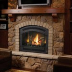Picture of Fireplace Xtrodinair 864 Dancing-Fyre High Output Gas Fireplace