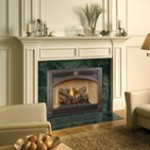 Lopi Bostonian Space Saver Gas Fireplace