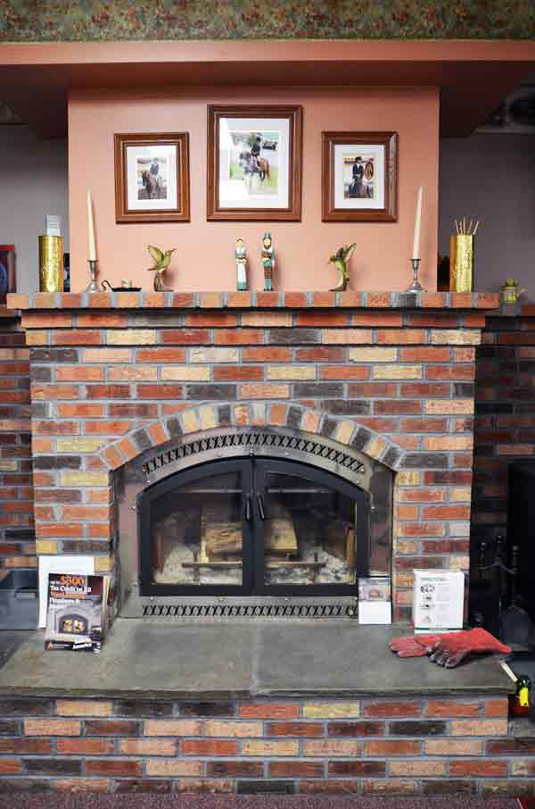 Picture of Country Side Stoves Wood Fireplace